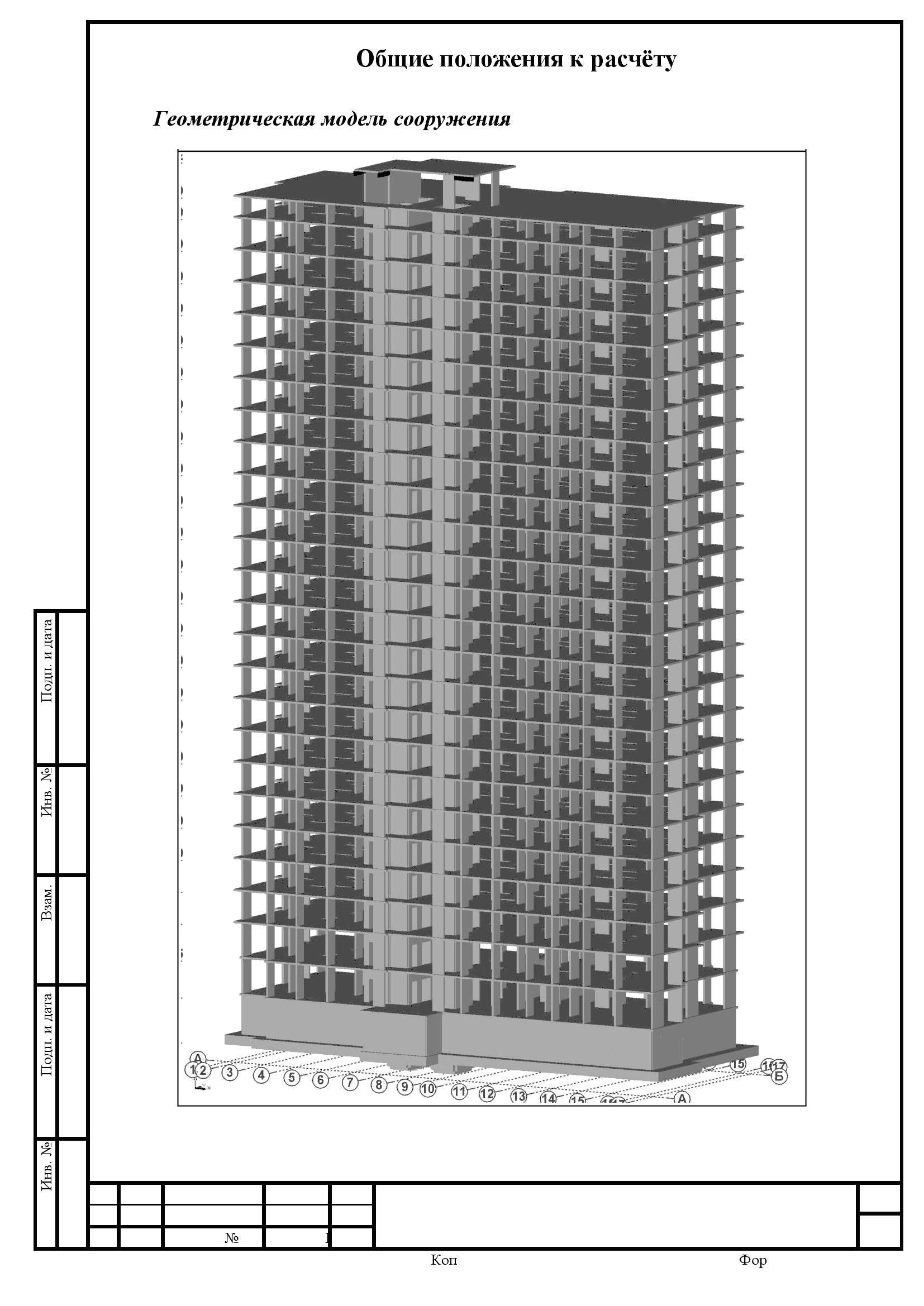 Строительные расчёты конструкций