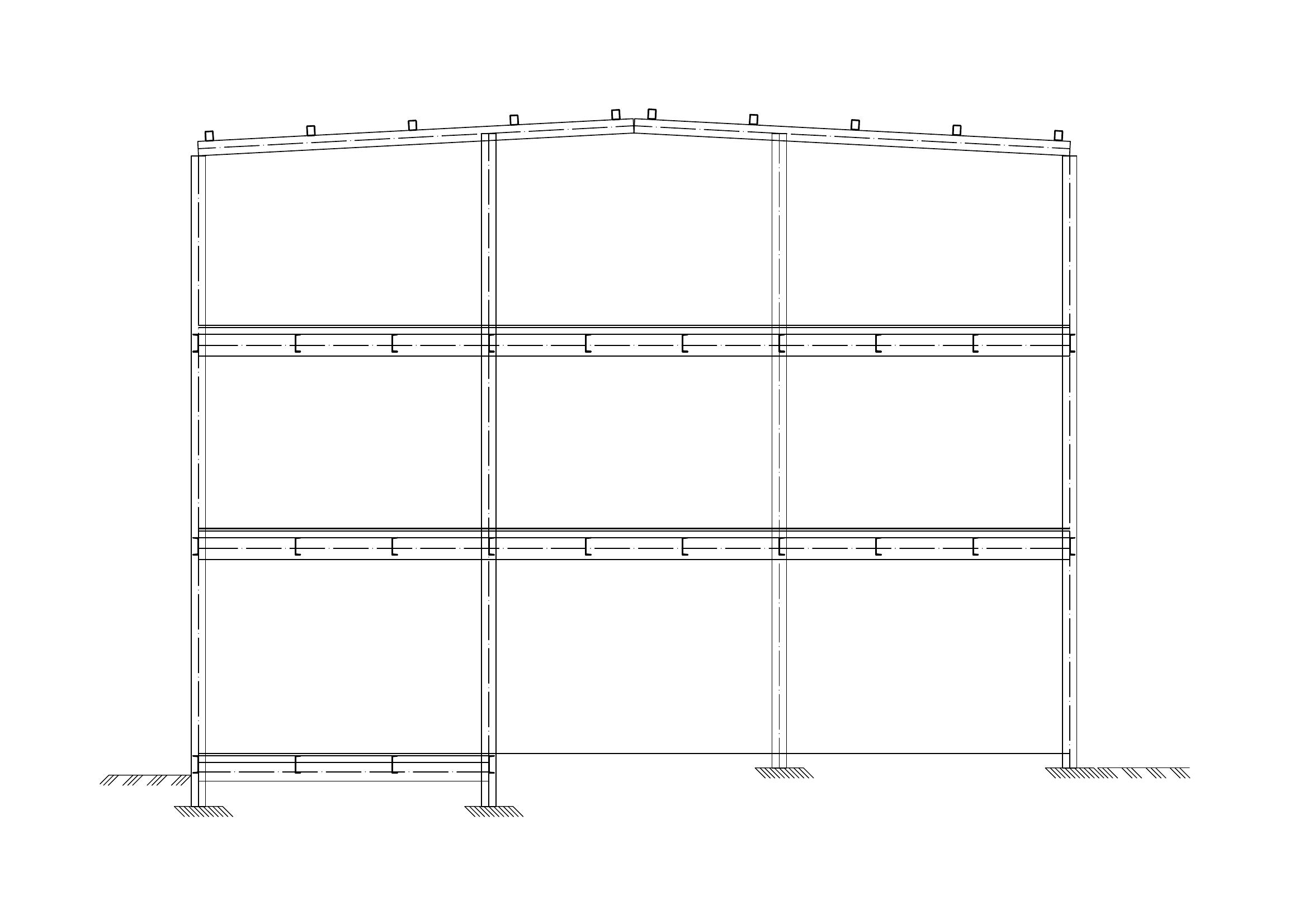 Проектирование стального каркаса вариант 7